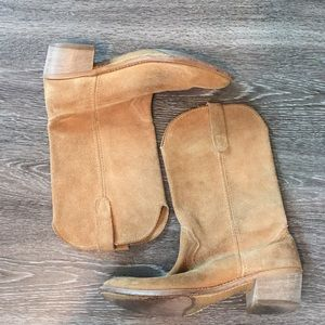 Shoes - genuine suede boots